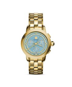 Tory Burch Chronograph Watch, 38mm - on #sale 25% off @ #Bloomingdale's  #ToryBurch