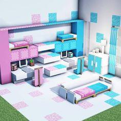 Minecraft House Tutorials, Easy Minecraft Houses, Minecraft Room, Minecraft Plans, Minecraft House Designs, Amazing Minecraft, Minecraft Tutorial, Minecraft Blueprints, Minecraft Creations