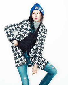 Irene Kim by Ahn Jiseop for Voguegirl Korea Jan 2014