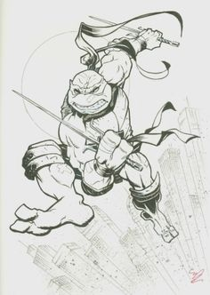 Teenage Mutant Ninja Turtles - Raphael by Michael Dooney *