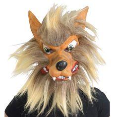 Máscara de Lobo #mascaras #antifaces #carnaval