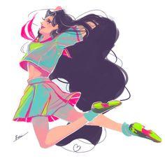 r02-once-jojo:  jojo 69mins drawing. Yukako Yamagishi. prompt: hair