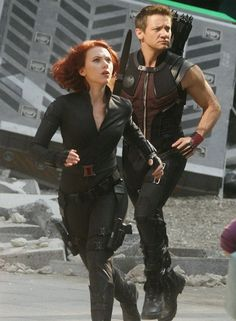 Natasha and Clint- I know it's pointless, but I still totally ship these two