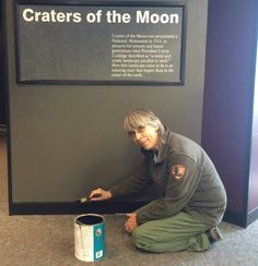"""Verda Mae has worked at Craters for 28 years. She says, """"It's a pretty cool place where a lot of people come to play. I get to stay and work!"""" #npwest #womenshistorymonth"""
