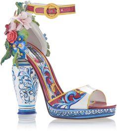 Dolce & Gabbana Embellished Patent-Leather Sandals http://shopstyle.it/l/cKgU