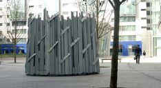 public art for Tabard square Galvanised steel UK Galvanized Steel, Public Art, Custom Art, Metal Working, Bronze, Architecture, Artist, Artwork, Fabric