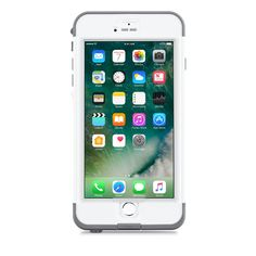 Lifeproof Nuud case for iPhone P Overview Despite the incredibly thin lifeproof nuud cover your iPhone completely waterproof. Exclusive nuud technology, touch-screen edge on waterproof. Apple Iphone, Iphone 6, Iphone Cases, Iphone Accessories, 6s Plus, Messages, Touch, Technology, Cover