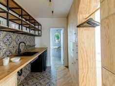 简约风格精致小厨房优雅背景墙设计图