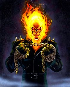 Ghost Rider in Collectibles Ghost Rider Johnny Blaze, Ghost Rider Marvel, Marvel Comics Art, Marvel Heroes, Captain Marvel, Ghost Rider Wallpaper, Hulk, Manga, Spirit Of Vengeance
