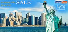 ★★★NEW YORK : Relish the gorgeous hues of the world's culture capital!  ★Flights Starts from £719pp (Flights+3nts)  More Details here... http://www.southalltravel.co.uk/holidays/usa/brandusa/