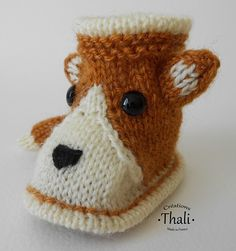 Knitting For Kids, Baby Knitting, Crochet Baby Booties, Crochet Hats, Baby Slippers, Yorkie, Baby Items, Winter Hats, Beanie