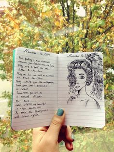 ~I will slowly write you out of my head My journal ~ Meriam BHT