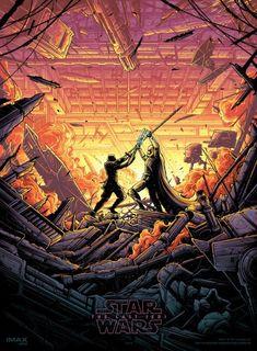 Star Wars: The Last Jedi IMAX Poster - Dan Mumford