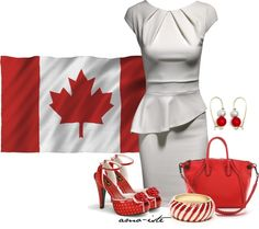 """""""Canadian Flag"""" by amo-iste on Polyvore"""