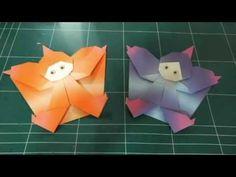 247.나비요정접기.오월의장미.요정접기.origami - YouTube