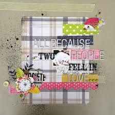 baby scrapbook layout handmade - Google Search