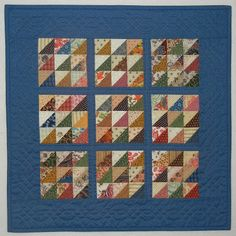 Quilts, Gravestones, and Elusive Ancestors: Quilts in the Blanket Chest. 6 inch blocks