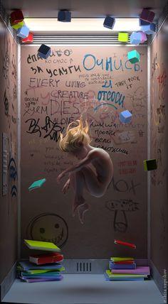Elevator by Nikita Veprikov | CGSociety