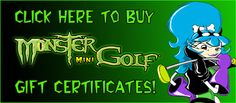 Monster Mini Golf in locations throughout NJ