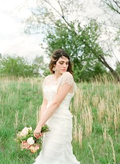 Gorgeous shot of Alea Lovely. xo #ivyandasterbride