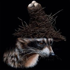 Creating stunning, realistic depictions of animals and objects, Canadian artist Jacub Gagnon includes surreal elements within his compositions, taking us out of… Illustrations And Posters, Animal Art, Canadian Artists, Surreal Art, Artist, Surrealism, Animal Illustration, Animal Paintings, Artist Interview