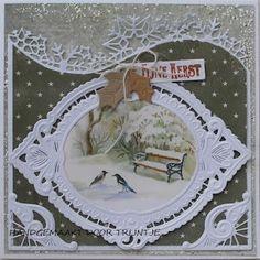 De Lage Hoeve: Kerstkaart met een mooi plaatje van forest animals...