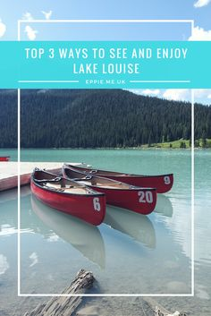 When people ask me about the most beautiful part of my travels, I always tell them about my time in Banff.Standing in front of Lake Louise, among the Rocky Mountains……