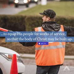 """""""...to equip His people for works of service, so that the body of Christ may be built up."""" Ephesians 4:12 - www.elevationchurch.org"""