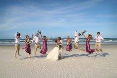 my next one will be a beach wedding. simple and private just close fam and friends!