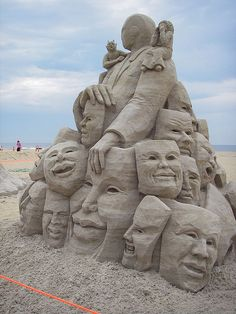 North American Sand Sculpting Championships, 2nd place teams