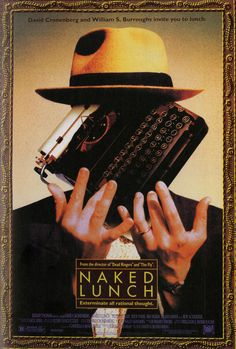 the naked lunch movie poster - Google Search