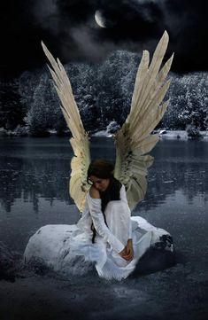 Fallen Angel- Patch was once an angel in heaven, but he fell in love with a human, so he came down to earth, loosing his wings. Description from pinterest.com. I searched for this on bing.com/images