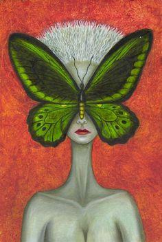 Catrin Welz-Stein - contemporary surrealist, using graphic arts