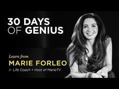Marie Forleo on CreativeLive | Chase Jarvis LIVE | ChaseJarvis - YouTube