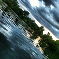 Who wouldn't want to live in Louisiana? #louisiana #sunset #lake #portallen #westbatonrouge