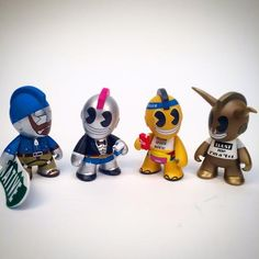 SpankyStokes.com | Vinyl Toys, Art, Culture, & Everything Inbetween: EXCLUSIVE: All FOUR of Kidrobot's new 'Bot figures...