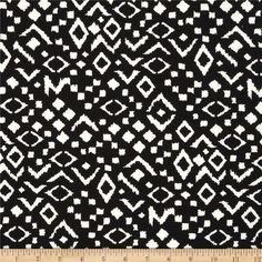 Mccalls 7126  Paola Pique Knit Geo Print Midnight Black/White from @fabricdotcom  This lofty pique fabric consists of 2 very lightweight fabrics fused together. With 25% four way stretch and a beautiful full-bodied drape, this textured medium weight knit fabric is perfect for creating skirts and dresses.