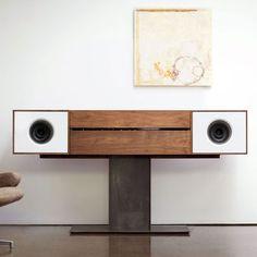 Symbol Audio Modern Record Console