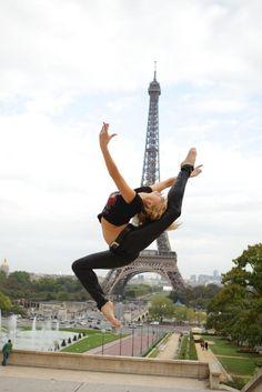Irina Kasakov, Eiffel Tower, Paris.