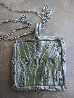 Polymer Clay HaGo'el Redeemer Necklace by RestingonHisword on Etsy, $25.00