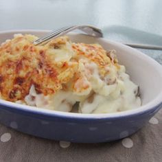 Gratin de quenelles aux champignons (5 Weight Watchers PP)