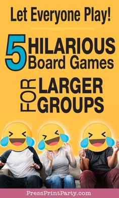 5 Best Board Games for Parties & Large Groups of 10 or more - Press Print Party! Group Activities For Adults, Party Activities, Family Activities, Diy Birthday Themes, Birthday Party Games, Family Game Night, Family Games, Large Group Games, Adult Party Games For Large Groups
