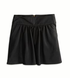 Vegan Leather Circle Skirt