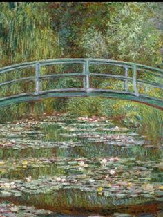 Claude Monet, I saw this painting at the Metropolitian Museum of Art in Manhattan.