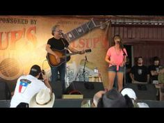 Baby I'm In --- Radney Foster and Kylie Rae Harris at Larry Joe Taylor Festival 2012 - Video by Photos by Hunter