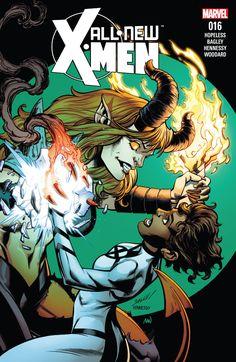 All-New X-Men (2015) #16 #Marvel @marvel @marvelofficial #AllNew #XMen (Cover Artist: Mark Bagley) Release Date: 12/14/2016