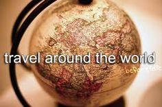 ik zou heel graag de wereld willen rondreizen