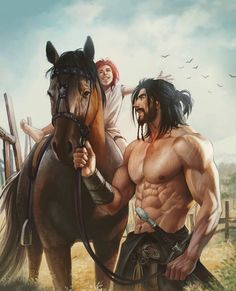 This is too much fun! by aenaluck males arte de personajes, Fantasy Character Design, Character Concept, Character Art, Concept Art, Fantasy Art Men, Fantasy Warrior, Fantasy Artwork, Warrior King, Woman Warrior