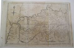 A Map of the State of Kentucky and the Tennessee Government Compiled from the best authorities.  THOMAS & ANDREWS, Cyrus Harris with A. Doolittle. THOMAS & ANDREWS 1796 Boston.