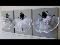 Ballerina Canvas Wall Art gift baby girl picture קנבס תמונה בלרינה מתנה תינוקת ילדה